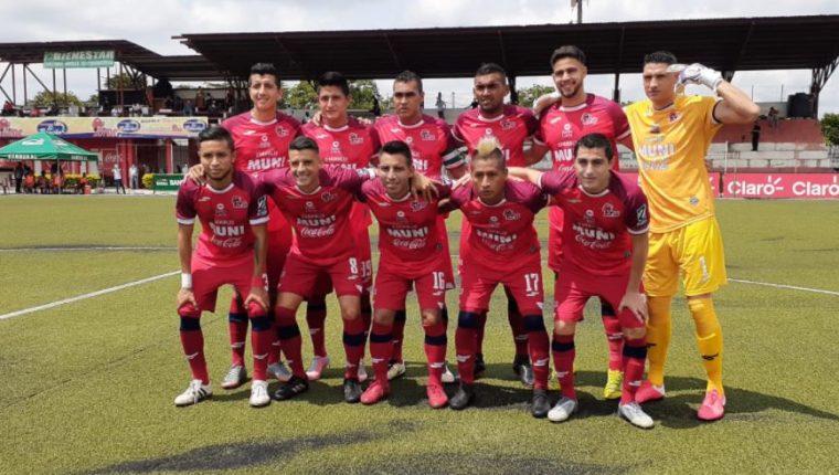El deportivo Malacateco sumó su segunda victoria en el torneo. (Foto Liga Nacional).