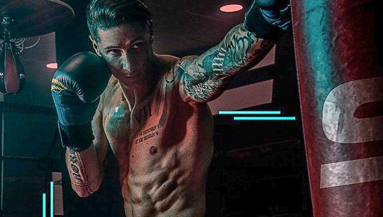 Fernando Torres después del retiro como futbolista profesional se dedica a practicar boxeo y promocionar sus gimnasios en Madrid, España. Foto Prensa Libre: Tomada de redes 9fitness