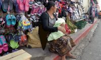 COBÁN, ALTA VERAPAZ - Ventas informales en Cobán. Foto Prensa Libre: Eduardo Sam Chun