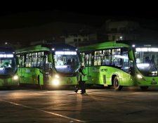 La Municipalidad de Guatemala habilitó este viernes 11 de septiembre la Línea 12 del Transmetro que va hacia el Centra Sur. (Foto Prensa Libre: MuniGuate)