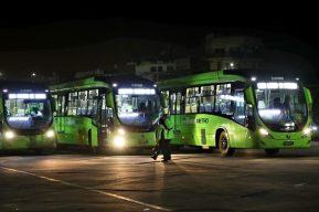 Transmetro comienza operaciones de la Línea 12 que va de Centra Sur hacia Plaza Barrios