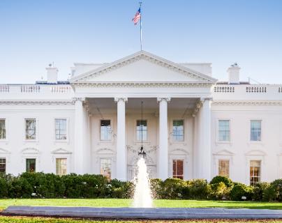 La Casa Blanca se mantiene con fuertes medidas de seguridad. (Foto Prensa Libre: Hemeroteca PL)