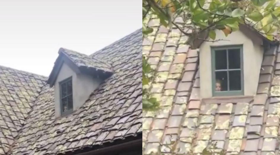 """""""Mi madre me envió este video de una mansión y noté una CARA en la ventana"""": el tenebroso caso que se viraliza en TikTok"""