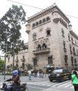 El ministro de Gobernación expresó su intención de separar las funciones de administración y seguridad pública de la cartera. (Foto Prensa Libre; Hemeroteca)