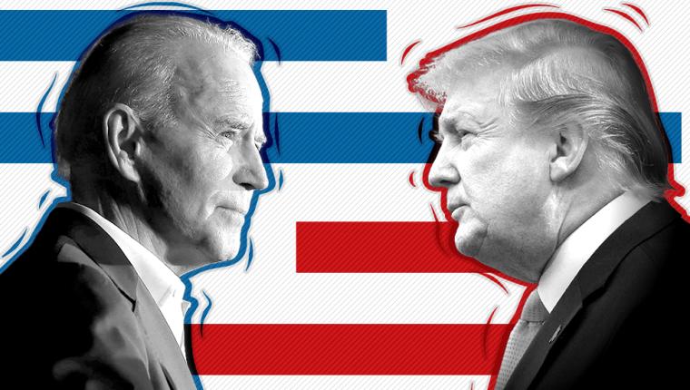 En estas elecciones presidenciales Trump se juega la reelección y Biden pasar de exvicepresidente a presidente.