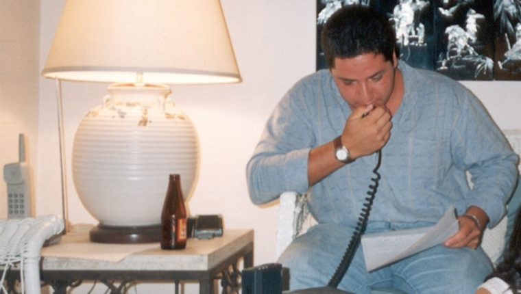 El negociador de 22 años en una de las comunicaciones con la guerrillla.