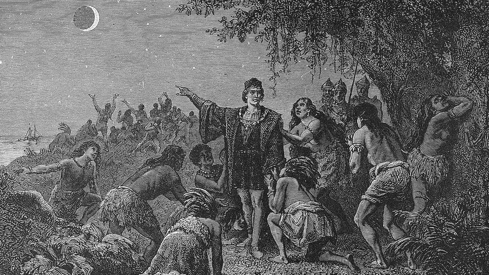 El eclipse que le salvó la vida de Cristóbal Colón en su cuarto viaje a América