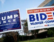 La elección del presidente de EE.UU. finalizará el próximo 3 de noviembre.