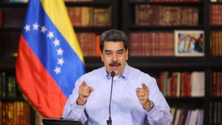 Maduro dijo que será uno de los primeros en ponerse la vacuna.