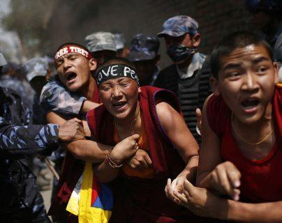 """China se refiere a la incursión militar como una """"liberación pacífica"""", pero los tibetanos exiliados la recuerdan como una invasión. GETTY IMAGES"""