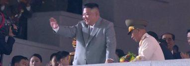 El líder norcoreano dijo que no ha habido casos de covid-19 en el país.