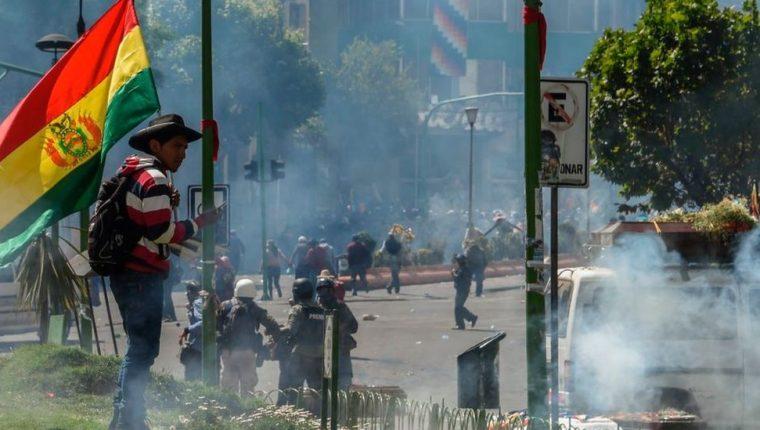 El último año, Bolivia vivió numerosas protestas sociales.
