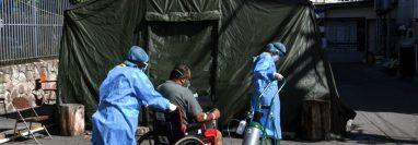 """La compra de hospitales móviles prometía """"quintuplicar"""" la capacidad sanitaria en Honduras para afrontar la pandemia."""