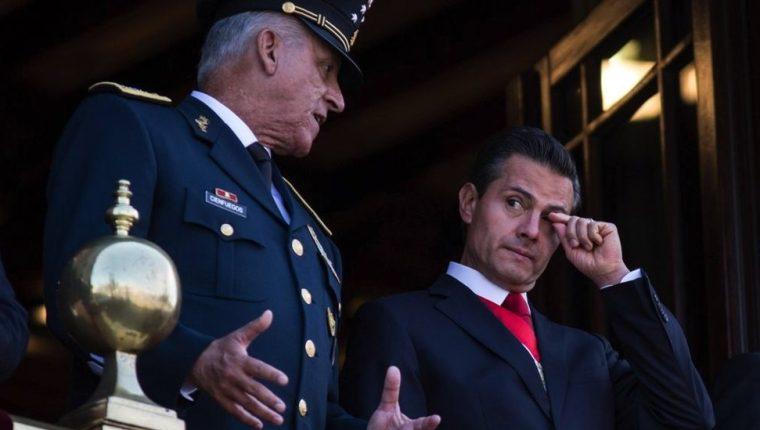 Cienfuegos fue secretario de Defensa durante el gobierno de Enrique Peña Nieto. GETTY IMAGES