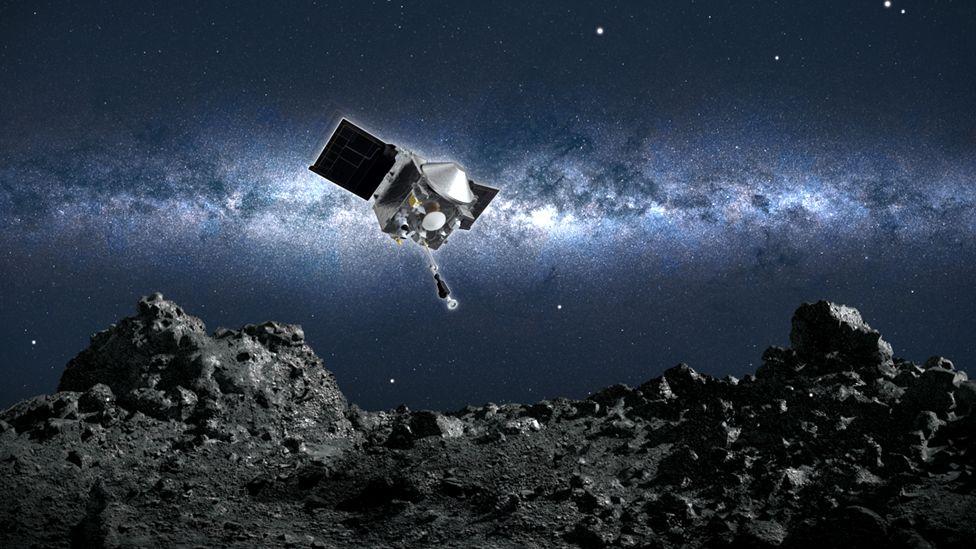 Bennu: la audaz maniobra de la nave espacial Osiris-Rex para tocar este asteroide y recolectar muestras de su superficie