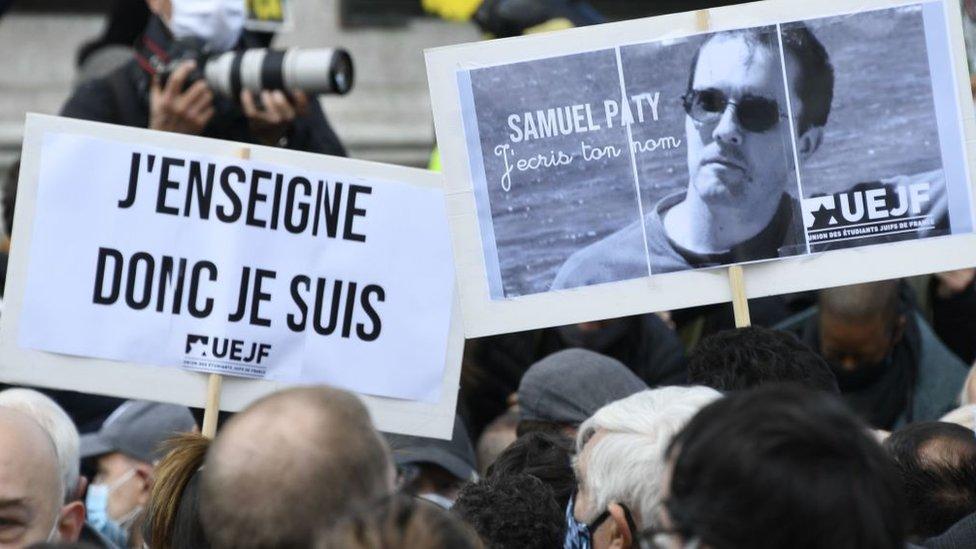 Decapitación en Francia: los reveladores detalles sobre los eventos previos al asesinato del profesor Samuel Paty