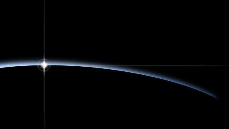 El planeta recién descubierto orbita alrededor de una estrella.