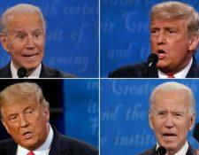El último debate presidencial se celebró a 12 días de las elecciones. GETTY IMAGES