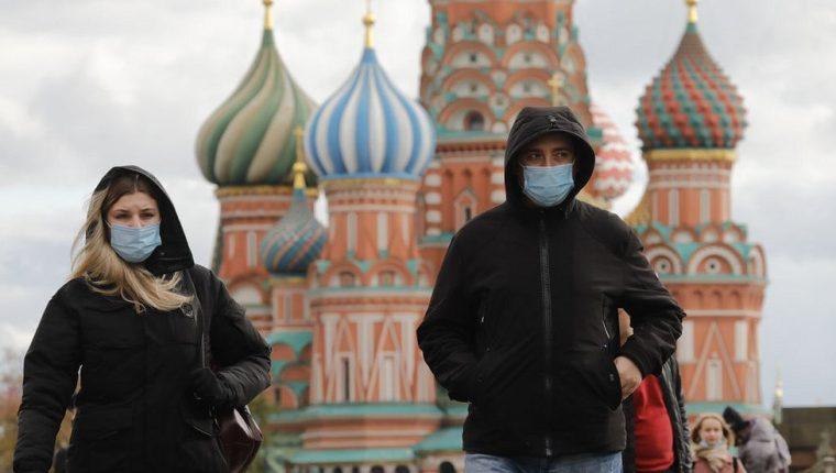 Rusia es uno de los países que experimenta un notable aumento de casos de coronavirus.