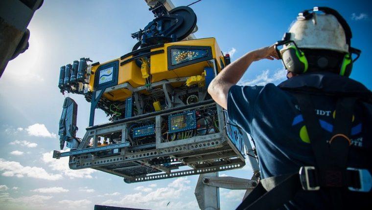 Los científicos utilizaron un robot submarino para filmar el enorme arrecife al norte de la costa australiana. Schmidt Ocean Institute
