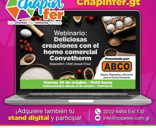 La Chapinfer contará con el apoyo de Intecap, que proporcionará acceso a talleres o charlas en tiempo real. Foto Prensa Libre: Cortesía