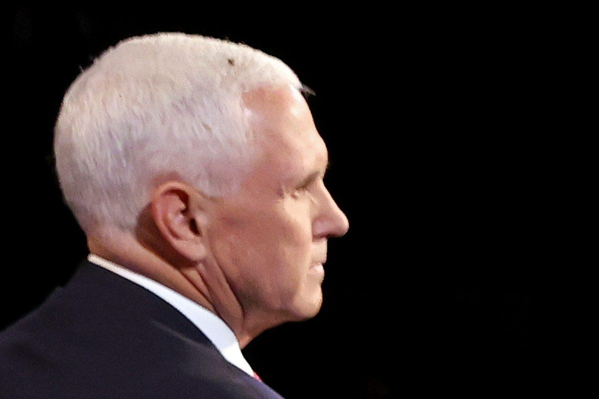 Y el ganador del debate entre Mike Pence y Kamala Harris fue… una mosca