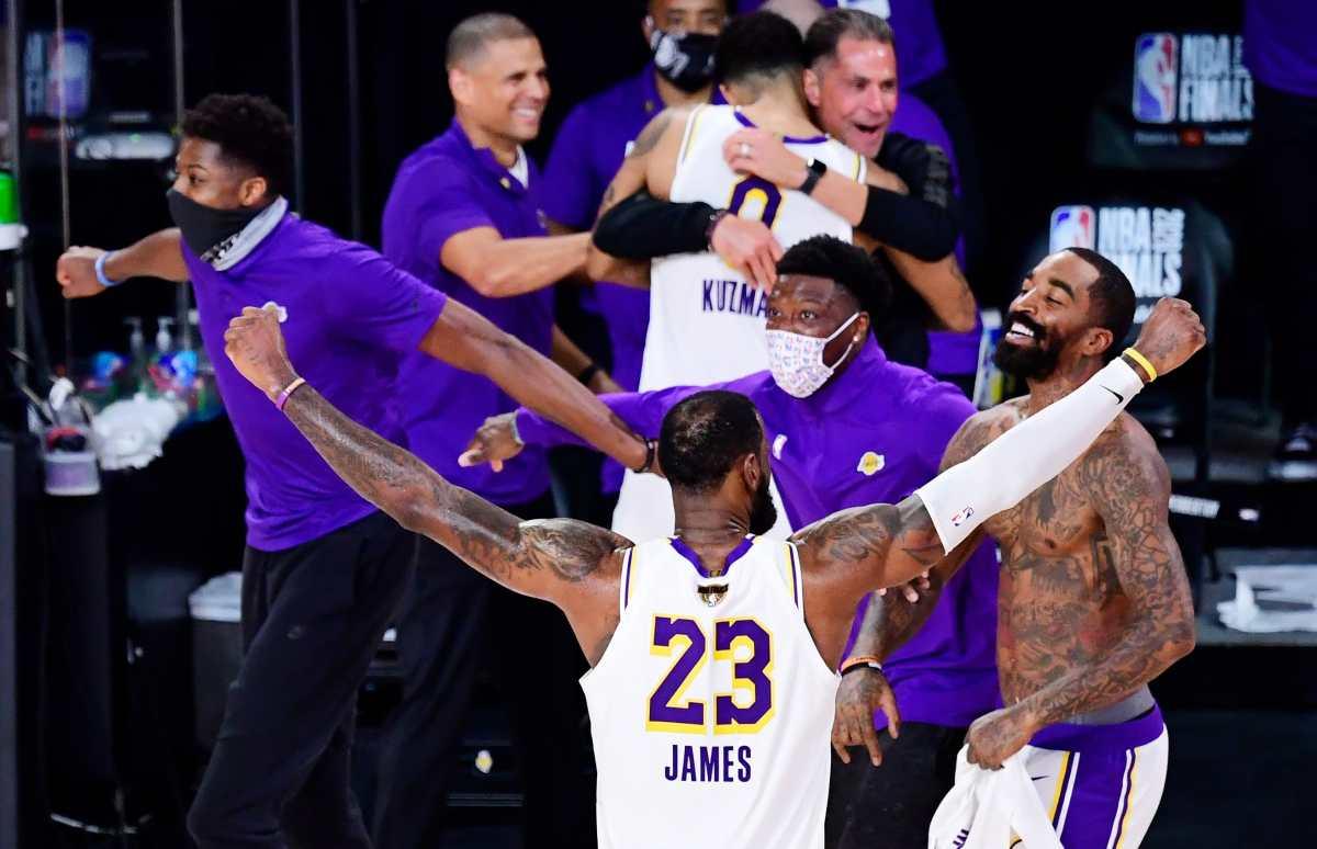 LeBron James elegido Jugador Más Valioso de las Finales por cuarta vez