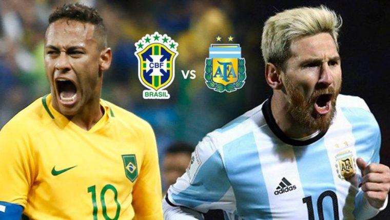 Brasil y Argentina se enfrentarán el 30 de marzo en el estadio Arena Pernambuco de Recife. (Foto Archivo).