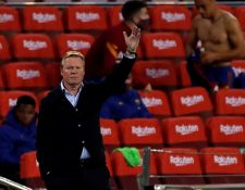 El técnico del Barcelona respondió a las declaraciones de Griezmann. (Foto Prensa Libre: EFE)
