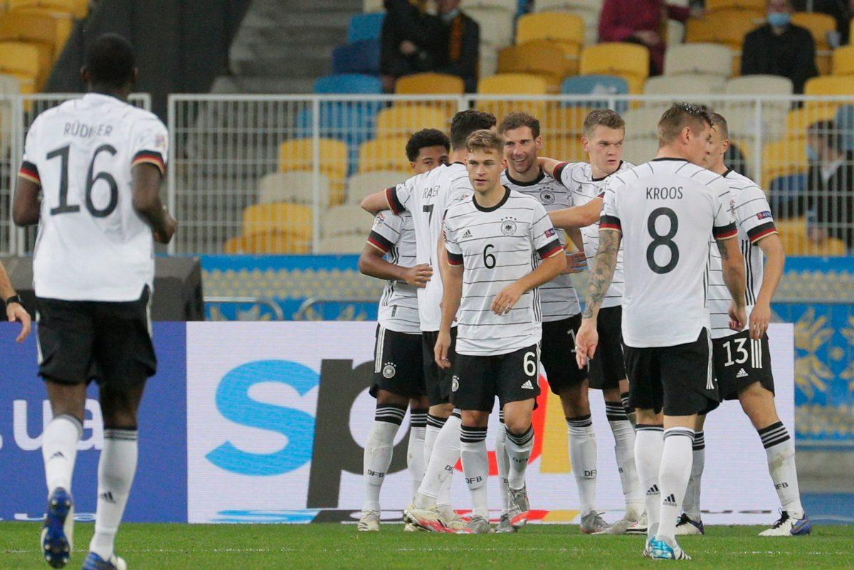 Alemania ofrece una mejor cara y derrota 2-1 a Ucrania