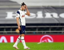 Gareth Bale no tuvo el debut soñado con el Tottenham. (Foto Prensa Libre: EFE)