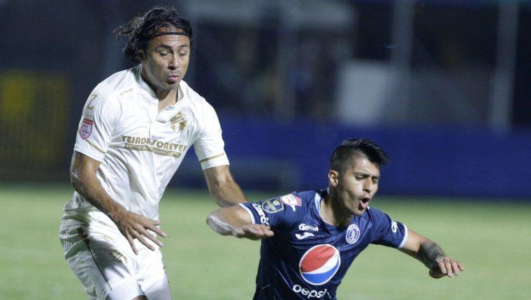 Comunicaciones se despidió de la Liga Concacaf. (Foto Prensa Libre: EFE)