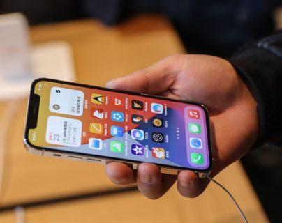 Los modelos por los que Apple fue multada en Italia son los 8, 8 Plus, XR, XS, XS Max, 11, 11pro y 11 Pro Max. (Foto Prensa Libre: EFE)