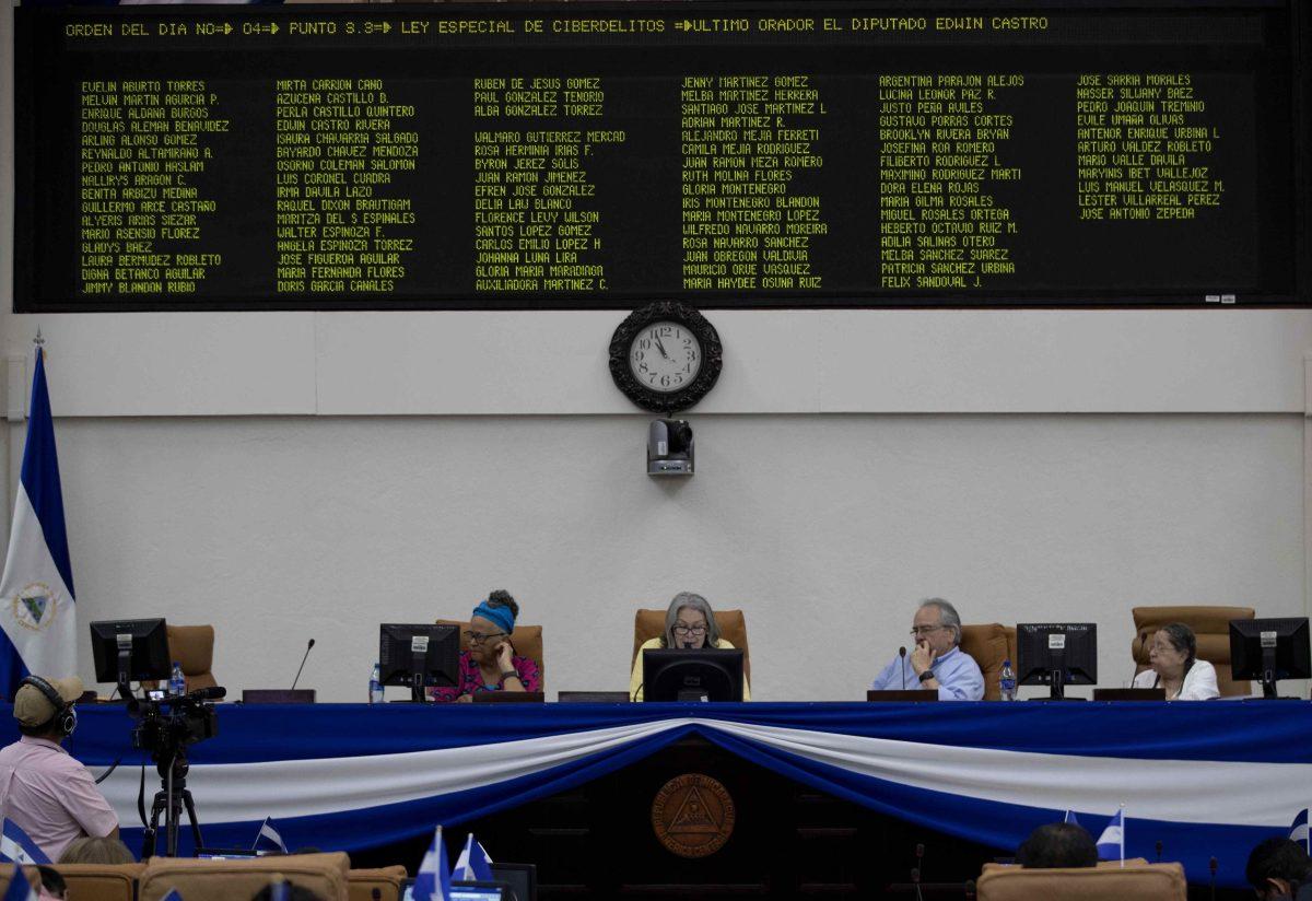 """Nicaragua aprueba ley para castigar """"noticias falsas"""" que atenta contra la libertad de expresión"""
