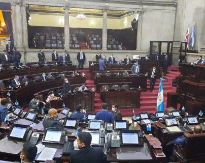 El pleno de diputados debe elegir a los representantes de Conamigua con el voto a favor de 81 diputados o más. (Foto Prensa Libre: José Castro)
