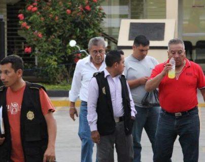 Maximino Milagro de Jesús Gómez Serrano, al momento de su detención en 2015. (Foto Prensa Libre: Hemeroteca PL)