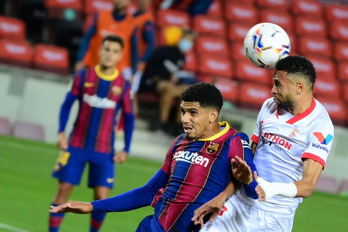 El Barcelona pierde los primeros puntos del curso ante un serio Sevilla