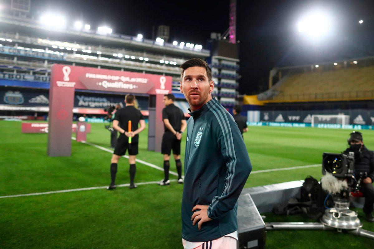 """Messi: """"Queríamos darle una alegría a los argentinos"""""""