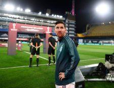Lionel Messi habló después del partido de Argentina frente a Ecuador y aseguró que el partido no fue lo que ellos querían. (Foto Prensa Libre: AFP).