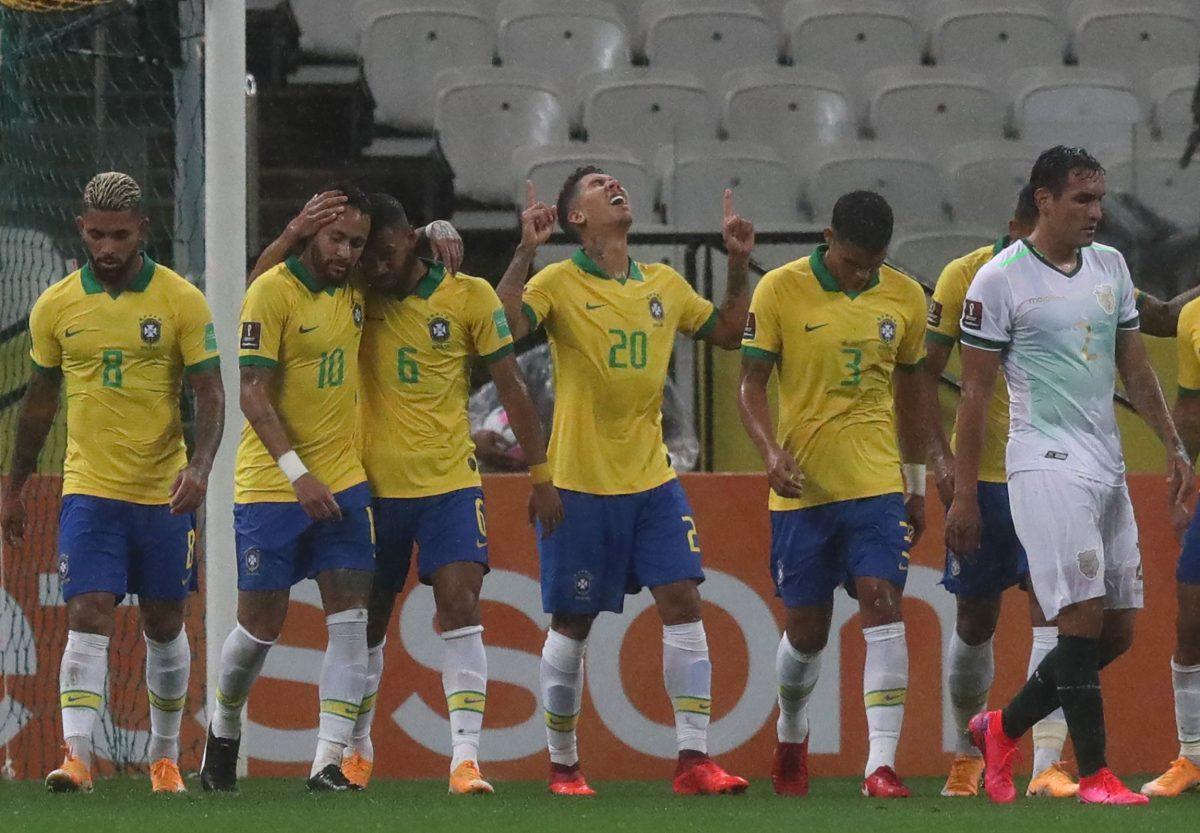 Brasil castiga con tantos de Marquinhos, Firmino, Coutinho y autogol
