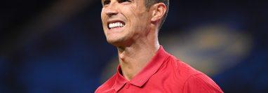 Foto de archivo de septiembre de 2020 del delantero Cristiano Ronaldo. (Foto Prensa Libre: AFP)
