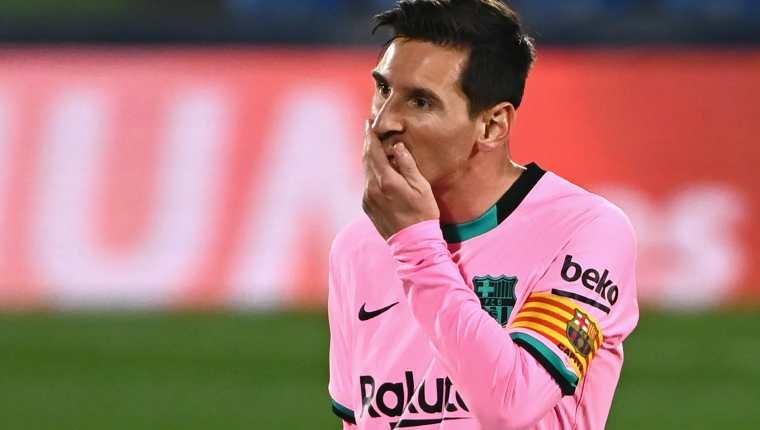 Lionel Messi sacó su lado más político y dejó claro que le preocupa la desigualdad que hay en el mundo. (Foto Prensa Libre: AFP)