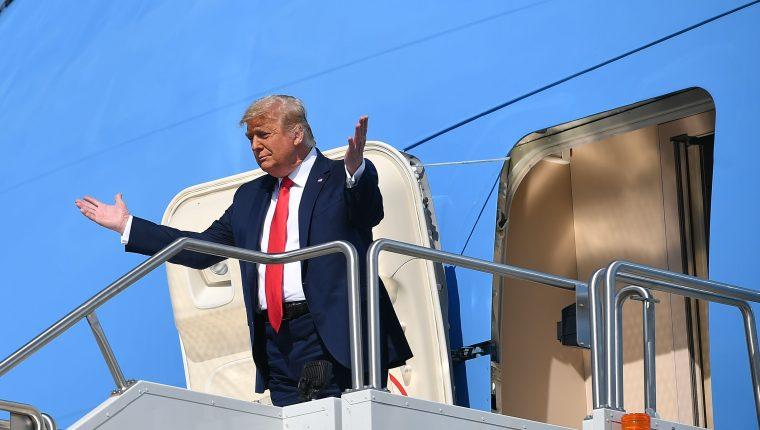 Donald Trump busca su segundo periodo como presidente de EE. UU. (Foto Prensa Libre: AFP)