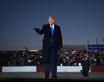 Donald Trump, presidente de Estados Unidos. (Foto Prensa Libre: AFP)