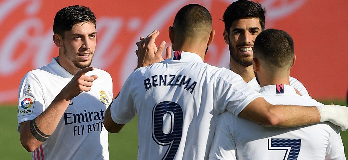 El Real Madrid muestra su efectividad con un 4-1 sobre el Huesca