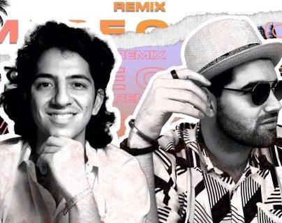 """Los guatemaltecos Alejandro Sago y JD Porras unen sus talentos en la canción """"Mi Pecado Remix"""". (Foto Prensa Libre: cortesía Alejandro Sago)."""