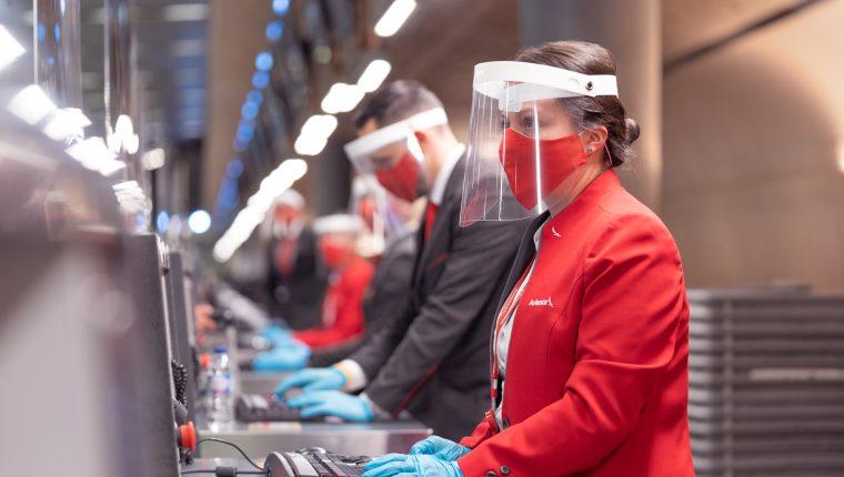 Avianca informó sobre un   incremento de vuelos tras reapertura del Aeropuerto Internacional La Aurora y esperan poder alcanzar un 30% para finales del 2020. (Foto Prensa Libre: Cortesía)