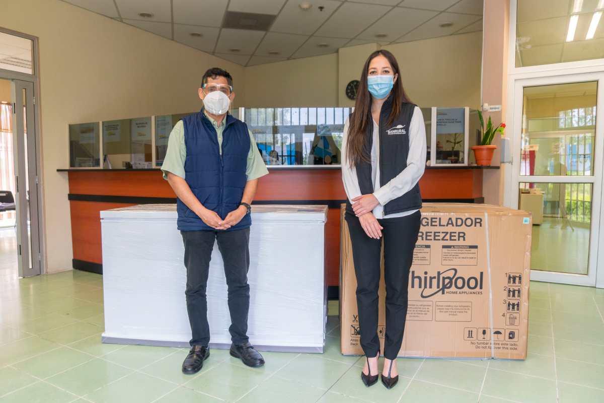Tarjetas de Crédito de BANRURAL colabora en la lucha contra el coronavirus