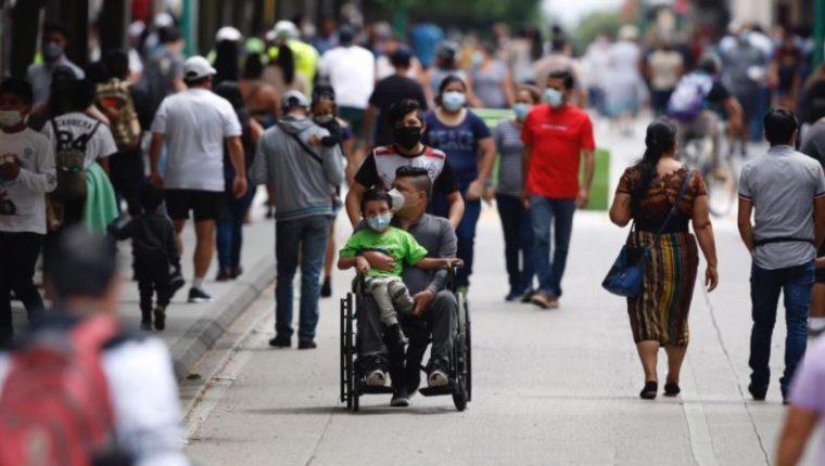Guatemala reaperturó sus actividades en medio de la pandemia del coronavirus. (Foto Prensa Libre: Hemeroteca PL)