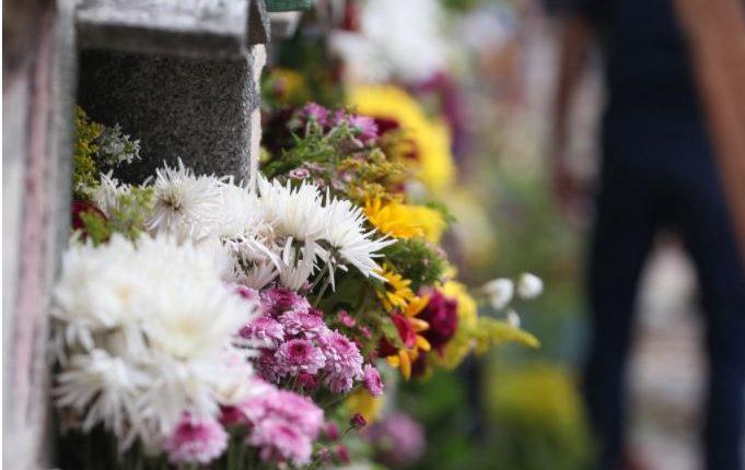 Cementerio de la Antigua Guatemala permanece cerrado por la pandemia. (Foto Prensa Libre: Hemeroteca PL)